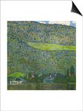 Unterach on Lake Attersee  Austria  1915