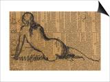 Femme assise de dos