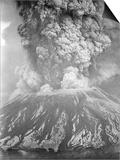 Mount St Helens Sends a Plume of Ash  Smoke and Debris Skyward