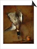Duck  Hung on a Wall  and a Seville Orange