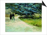 The Poet's Garden  Arles 1888