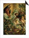 The Archangel Michael Fights Satan  (Revelation 12  1-9)