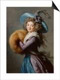 Madame Molé-Raymond de la Comédie italienne