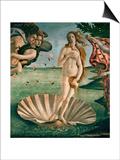 The Birth of Venus (Venus Anadyomene)  Detail
