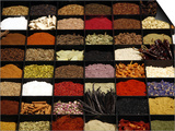 A Display of Spices Lends Color to a Section of Fancy Food Show  July 11  2006  in New York City