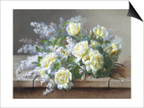 Still Life with Yellow Roses
