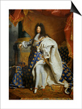 Louis XIV  King of France (1638-1715) in Royal Costume  1701