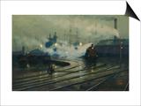 Les docks de Cardiff