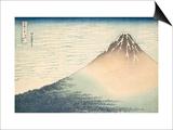Vent frais par matin clair ou Le Fuji rouge