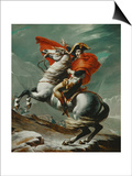 Napoleon (1769-1821) Crossing the Saint Bernhard Pass  1801/2