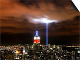 """Tribute in Light"" Illuminates the Sky Over Manhattan"