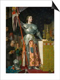 Joan of Arc at the Coronation of King Charles VII at Reims Cathedral  July 1429