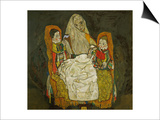 Mother with Two Children  1915