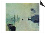 Lacroix Island  Rouen  Fog  1888