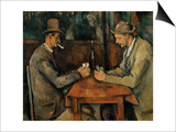 The Card Players  1890-95