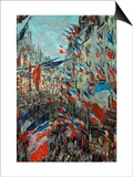 Paris  Rue St Denis: Celebration of June 30  1878