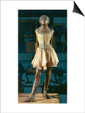 Little Dancer Aged Fourteen  1880-1881  Bronze with Muslin Skirt and Satin Hair Ribbon