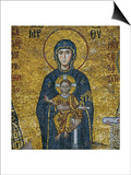 Madonna and Child  from the Votive Mosaic in the South Gallery  Byzantine  12th Century