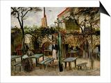 La Guinguette in Montmartre  c1886