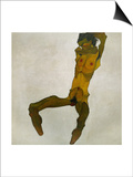 Egon Schiele  Self-Portrait  Nude