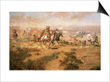 The Attack on the Wagon Train