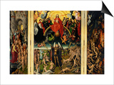 Weighing of the Souls  Triptych of the Last Judgment