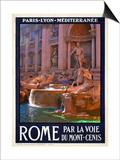 Trevi Fountain  Roma Italy 4