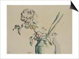Roses dans un vase vert