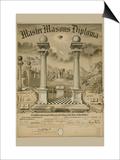 Masonic Symbols - Master Masons Diploma