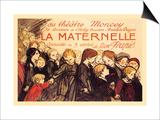 La Maternelle: Comedie en 3 Actes  c1920