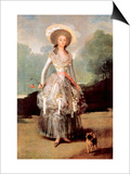 Portrait of Marquesa De Pontejos Y Sandoval  Herzogin Von Pontejos
