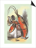 Through the Looking Glass: The Lobster Quadrille