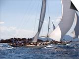 Havsornen Sailing at the Panerai Classics  Sardinia  September 2007