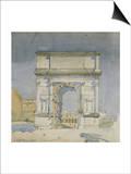 Rome  Arch of Titus  1891