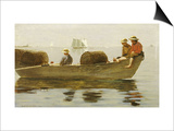 Three Boys in a Dory  1873