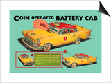 Coin Operated Battery Cab