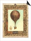 Vintage Hot Air Balloon I