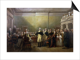 George Washington Resigning His Commission