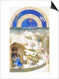 Le Tres Riches Heures Du Duc De Berry - February