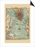 The Rebel Defences of Charleston Harbor SC  August 1863