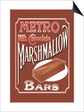 Metro Milk Chocolate Marshmallow Bars