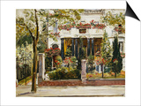 The Front Garden of the Steinbart Villa in Berlin