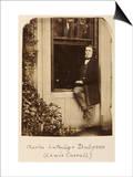 Lewis Carroll (Charles Lutwidge Dodgson 1832-1898)  Self Portrait  circa 1863