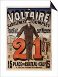 A Voltaire  circa 1877