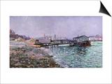 La Seine  Quai St  Painted Circa 1886