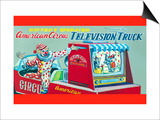 American Circus Television Truck