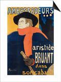 Ambassadeurs; Aristide Bruant  1892