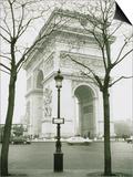 Arc de Triomphe and Place Charles de Gaulle in Paris