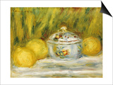 Sugar Bowl and Lemons  1915