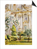 Palace and Gardens  Spain  1912